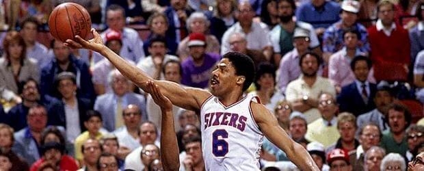Julius Erving, Philadelphia 76ers