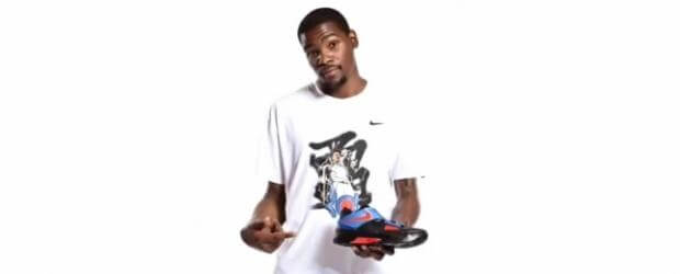 Kevin Durant and the Nike Zoom KD IV