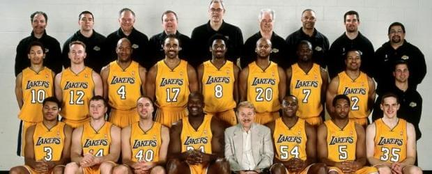 The 2000-01 Los Angeles Lakers And The Most Dominant ...