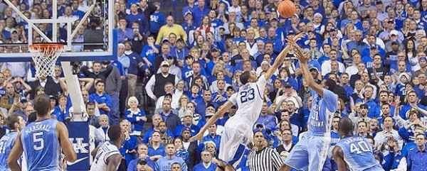 What S So Special About Kentucky Basketball: Shocking The World At Rupp Arena: North Carolina Vs