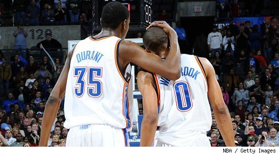 Kevin Durant And Russell Westbrook Best Friends Best player on the floor,