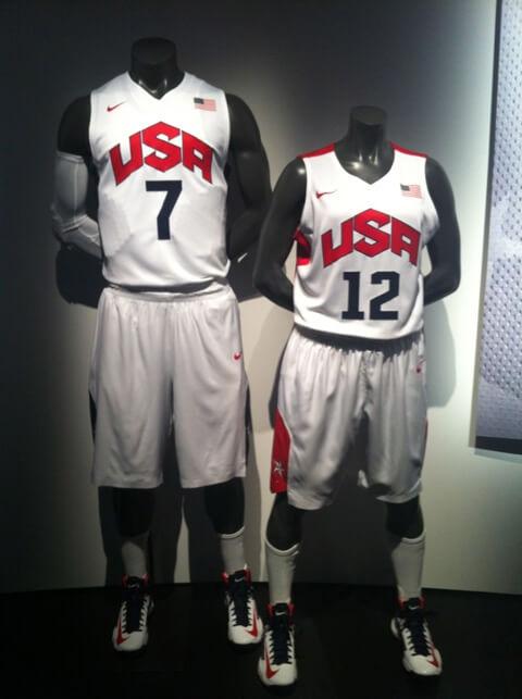 c22be45c02de Nike Basketball Reveals Team USA Uniforms for the 2012 London Olympics -