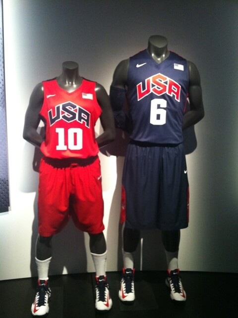 Kevin Durant And Nike Basketball Unveil Team USA Uniforms ...