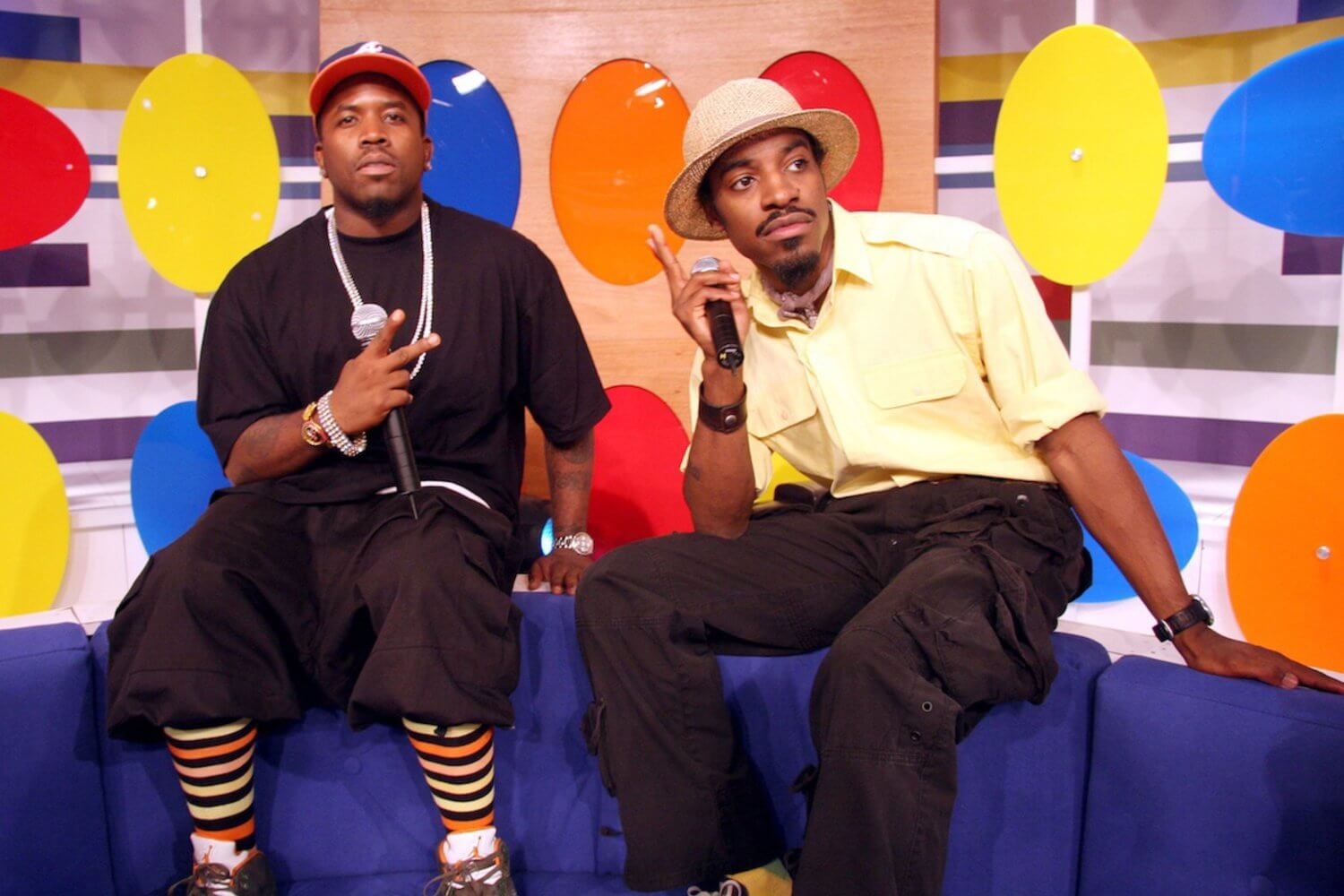 Outkast Visit BET's 106 and Park - August 23, 2006