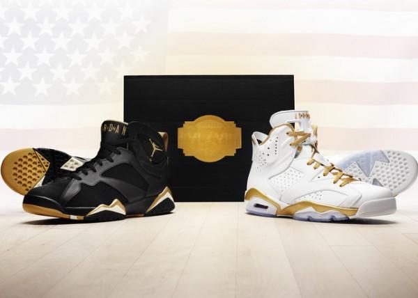4fcc7cd9a16 Starting Lineups: Jordan Brand Unveils 'Golden Moments' Pack Featuring Air  Jordan VI & VII