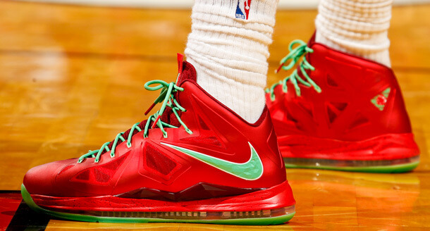 15be3e3f26c My Journey To The LeBron X Christmas Sneakers - The Sports Fan Journal
