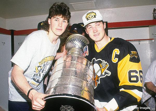 1992 Stanley Cup Finals - Game 4:  Pittsburgh Penguins v Chicago Blackhawks