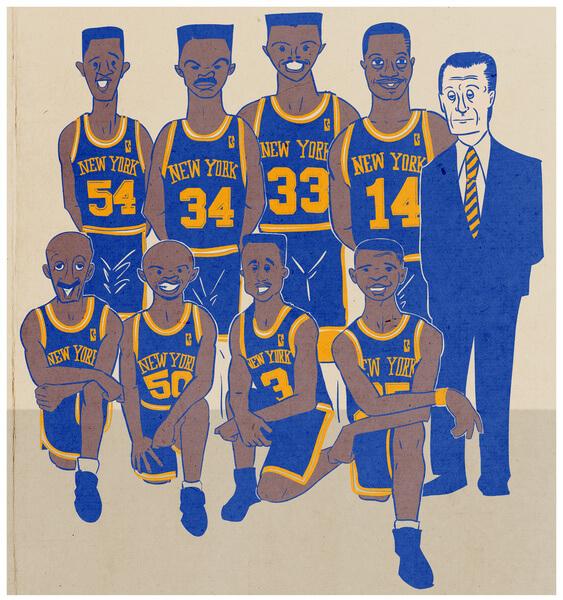 1994 knicks hoop dream ink