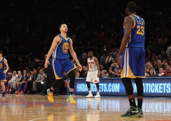 stephen curry scores 54 vs knicks