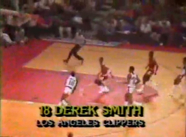 derek smith dunks on michael jordan