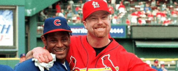 an introduction to the life and sammy sosa and mark mcgwire Mlb news facebook share twitter share this was the introduction: sammy sosa is selfish sammy sosa, 1998-2002: 292 mark mcgwire: 1995-99: 284.