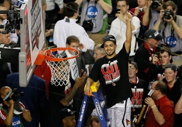 peyton siva cuts the net