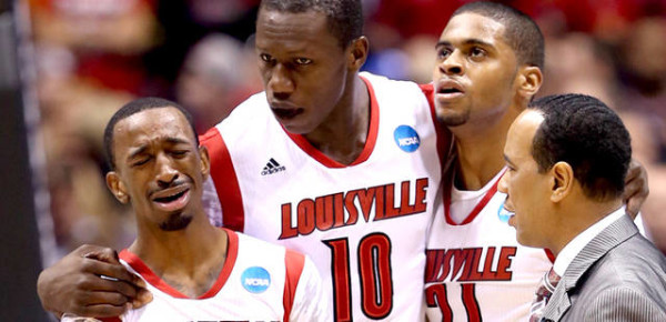 russ smith louisville crying