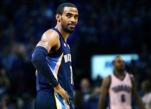mike conley grizzlies thunder