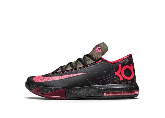 buy online fb07a 9bcb9 Underneath The Moon And The Stars  Introducing The Nike KD VI Meteorology