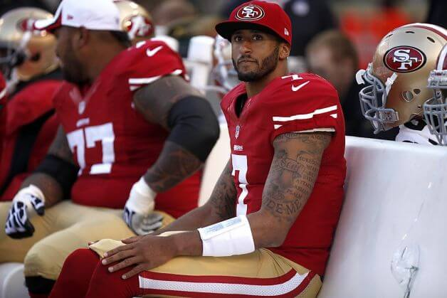 Time For Civil Disobedience >> Starting Lineups: Everybody Hates Colin Kaepernick - The Sports Fan Journal