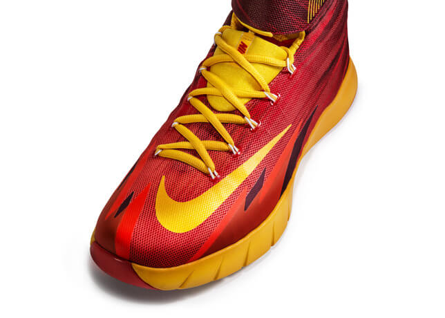 Nike Zoom Hyperrev 2015 Kyrie Andrew Irving Shoes Red Yellow