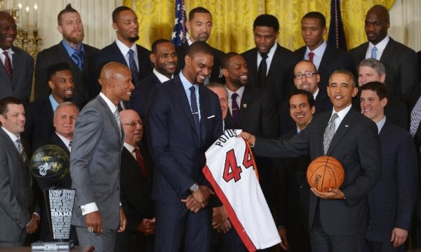 miami heat barack obama white house
