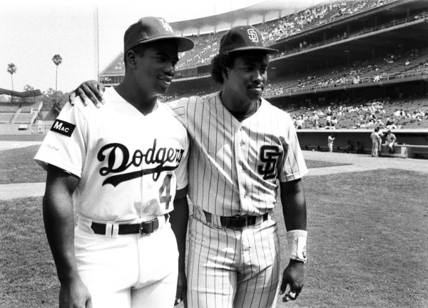 Chris Gwynn and Tony Gwynn