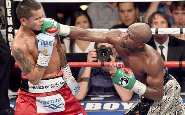 Mayweather Right Hand