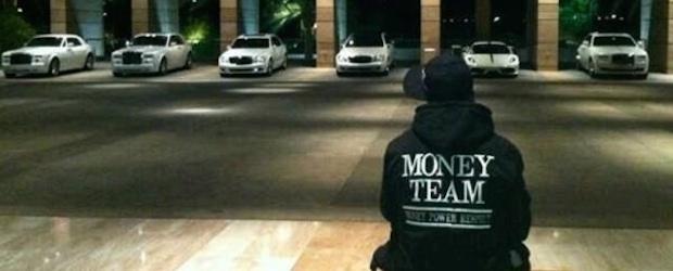 floyd money team cars