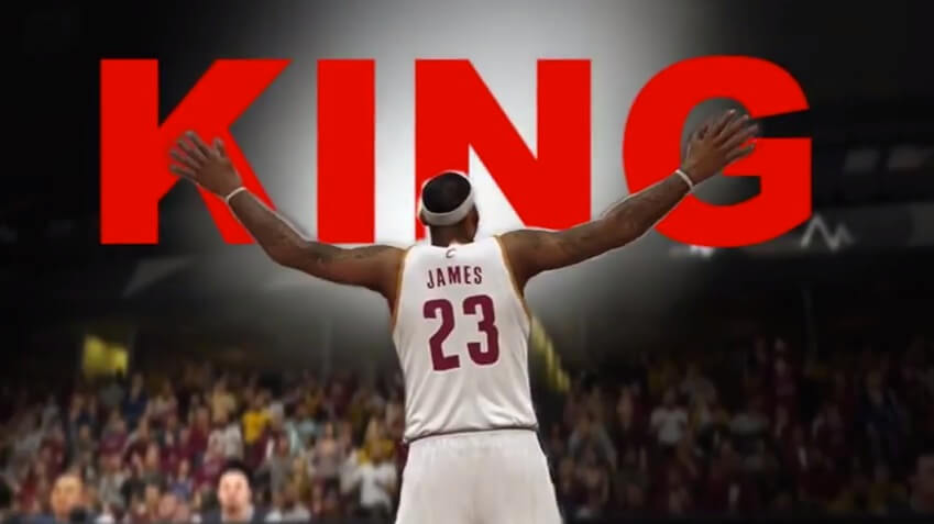 reputable site 33b73 3a2af The Cavaliers Hype Machine Grows: The NBA 2K LeBron James ...
