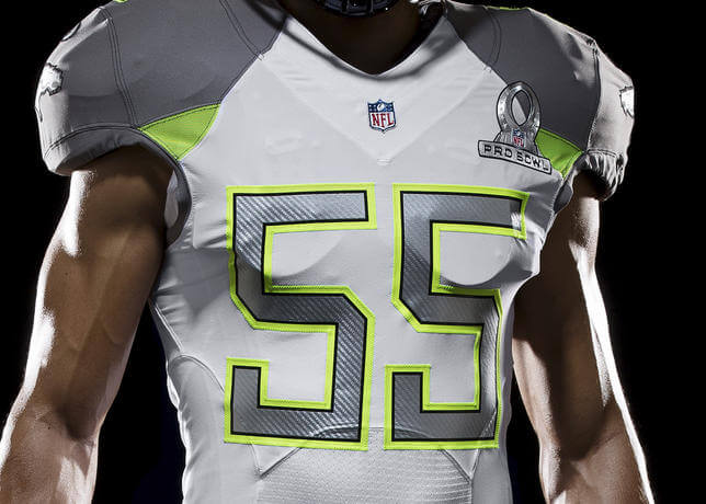 83963c31b Fantasy Football  Nike Unveils 2015 NFL Pro Bowl Uniforms -