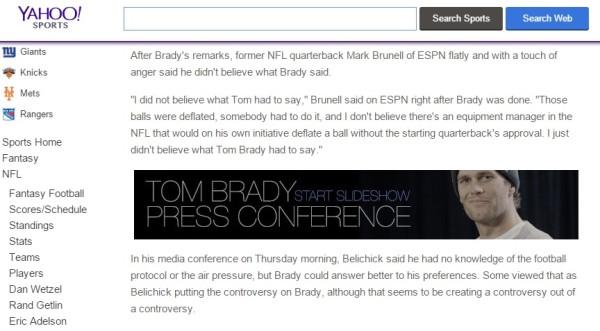 Yahoo Brady Slideshow - really