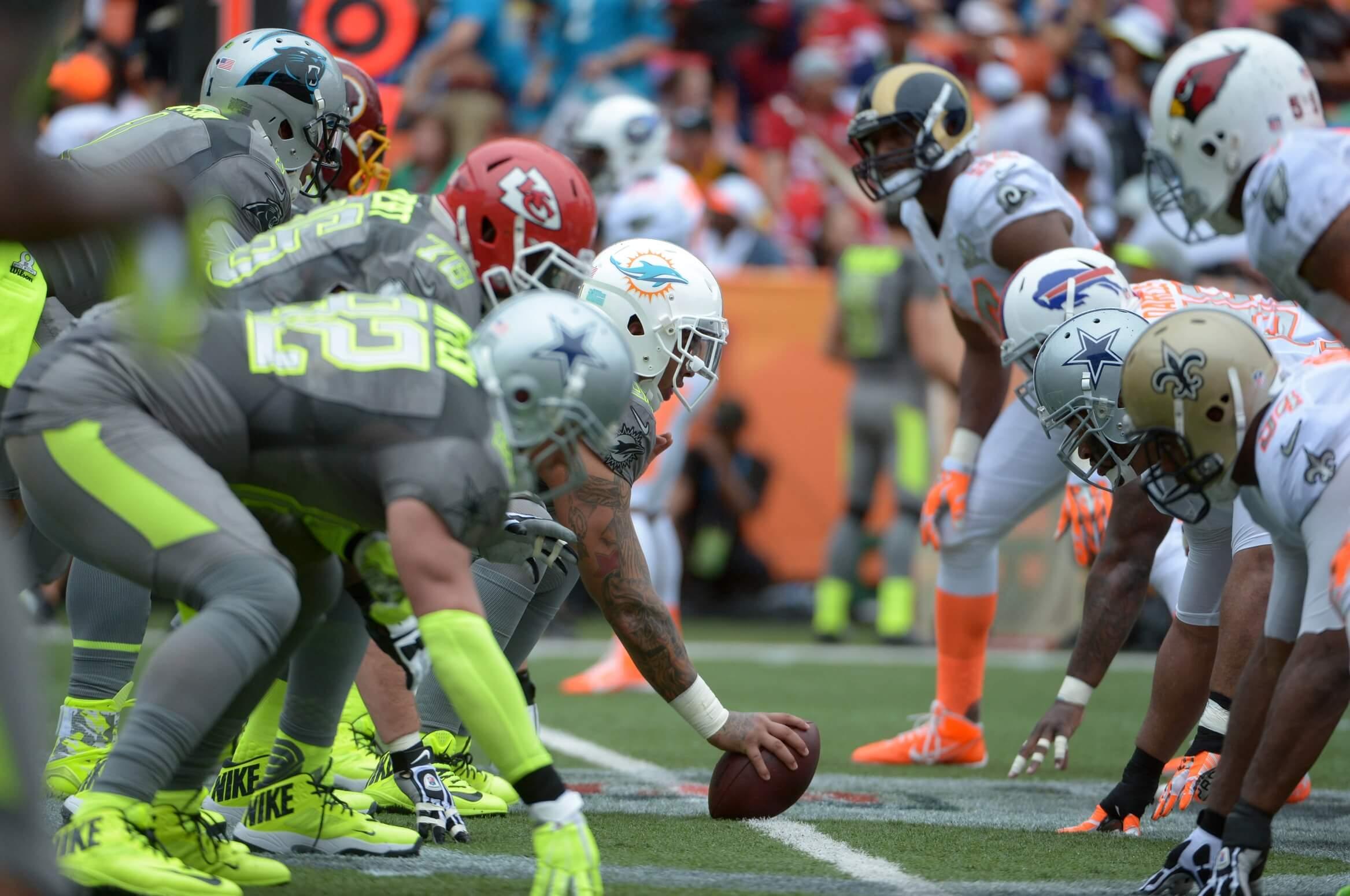 separation shoes 915a3 66b43 Fantasy Football: Nike Unveils 2015 NFL Pro Bowl Uniforms -