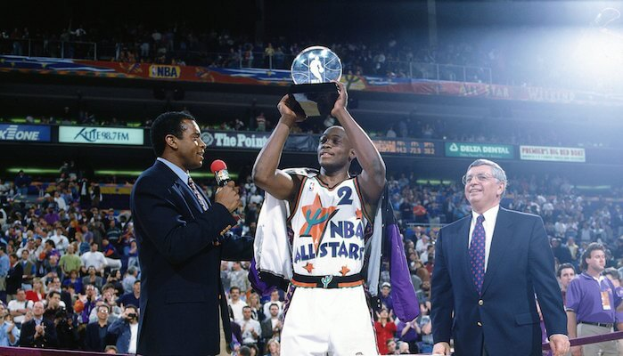 On Mitch Richmond Earning Michael Jordan s Ultimate Respect And The 1995  All-Star Game MVP e82b5e27a