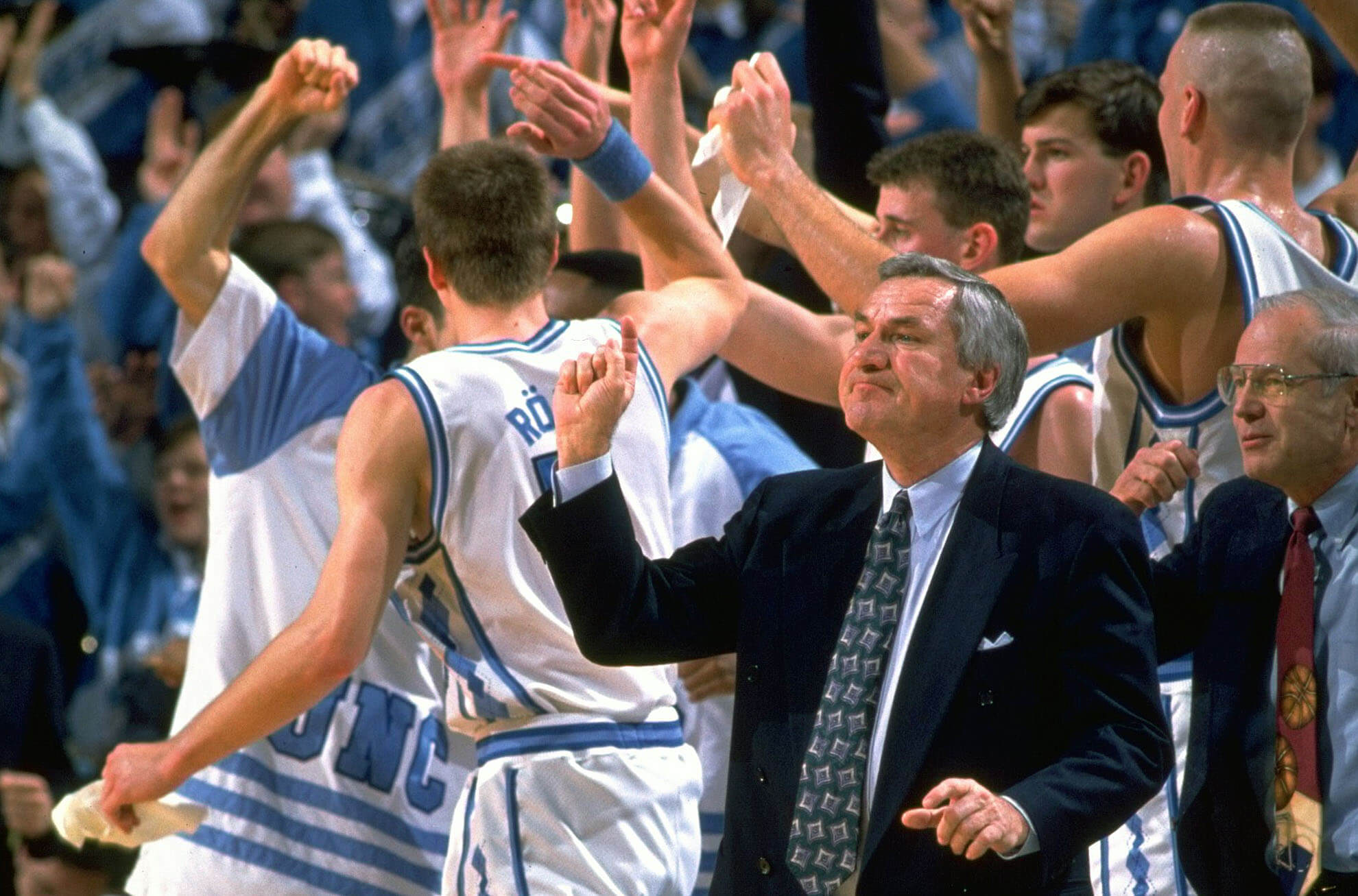 Dean Smith And The Brand of North Carolina Basketball -