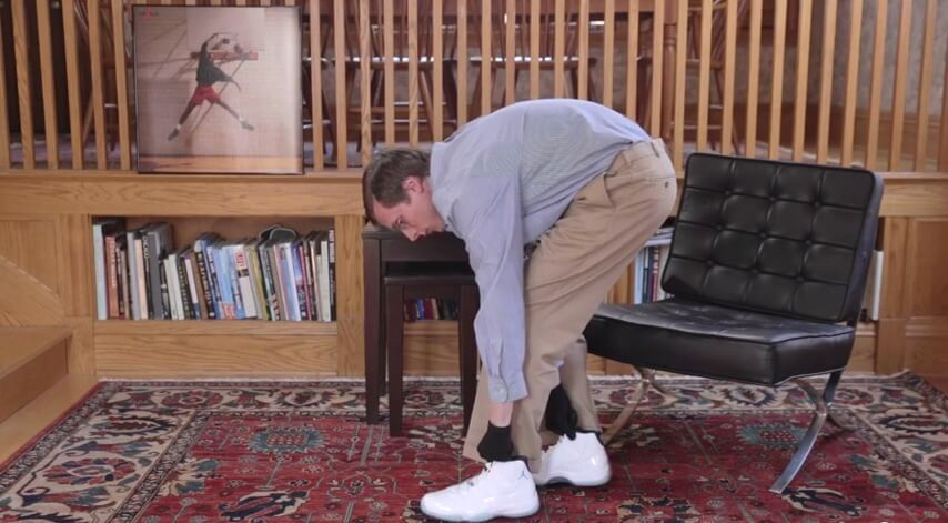 68866b18f54446 Brad Hall s Unboxing Of The Air Jordan XI Retro Legend Blue Is Amazing -