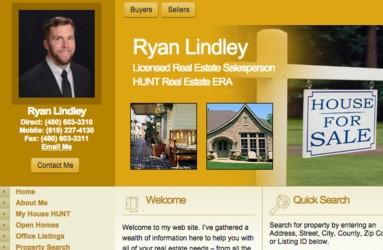 Ryan Lindley, Realtor