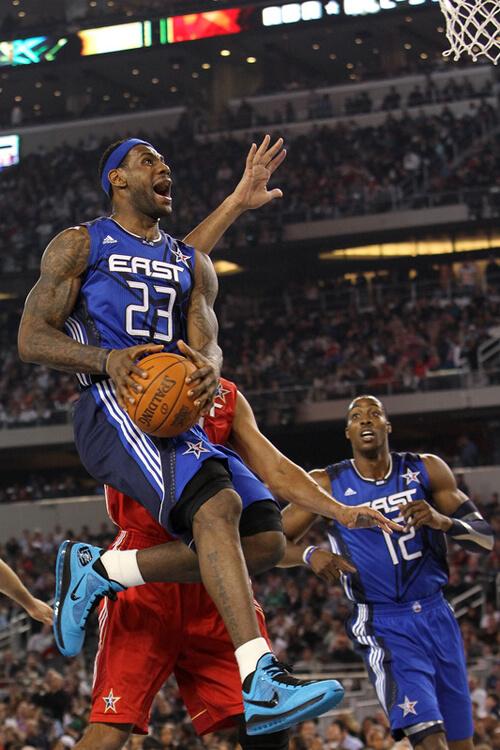 Top 5 NBA All-Star Game Air Jordan Sneaker Moments   De Bästa All ... 765e93e7dc