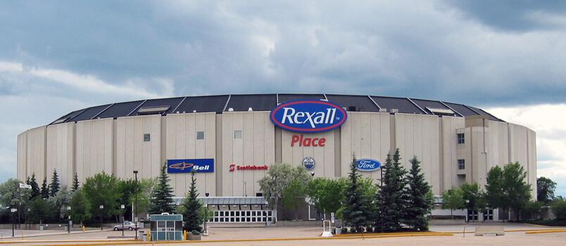 Rexall Place, former home of the Edmonton Oilers.