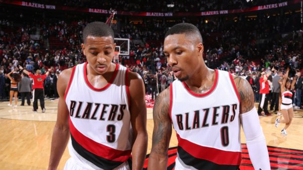 There's a lot of game between CJ and Dame. Bars. (Credit: NBA.com)