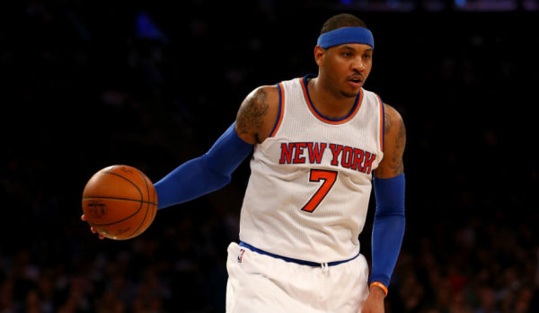 Melo can create space to score in a phone booth. (Credit: Getty Images)