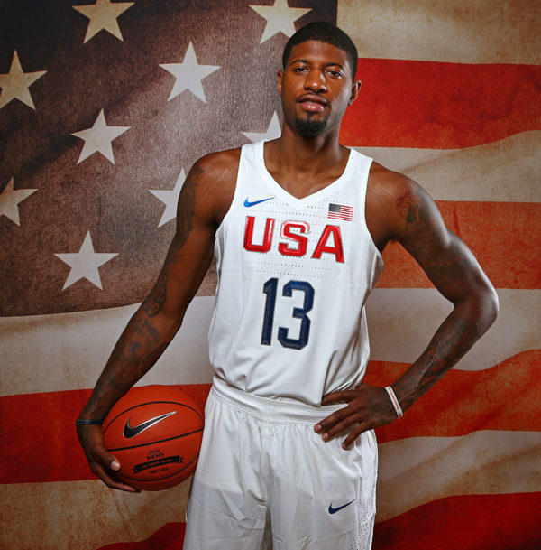 Paul George: Olympian (Photo by Nathaniel S. Butler/NBAE via Getty Images)