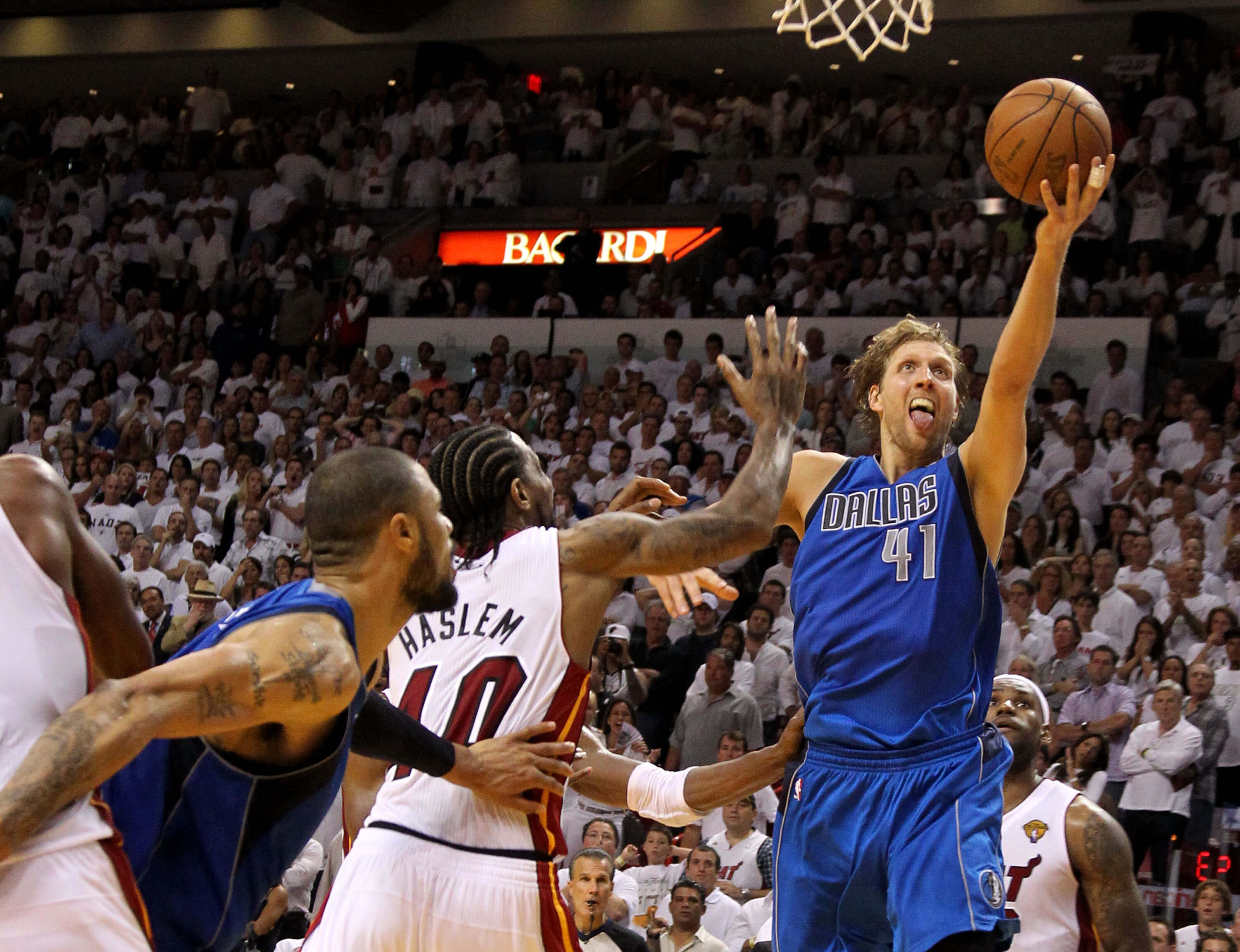 Image result for 2011 nba finals dirk nowitzki