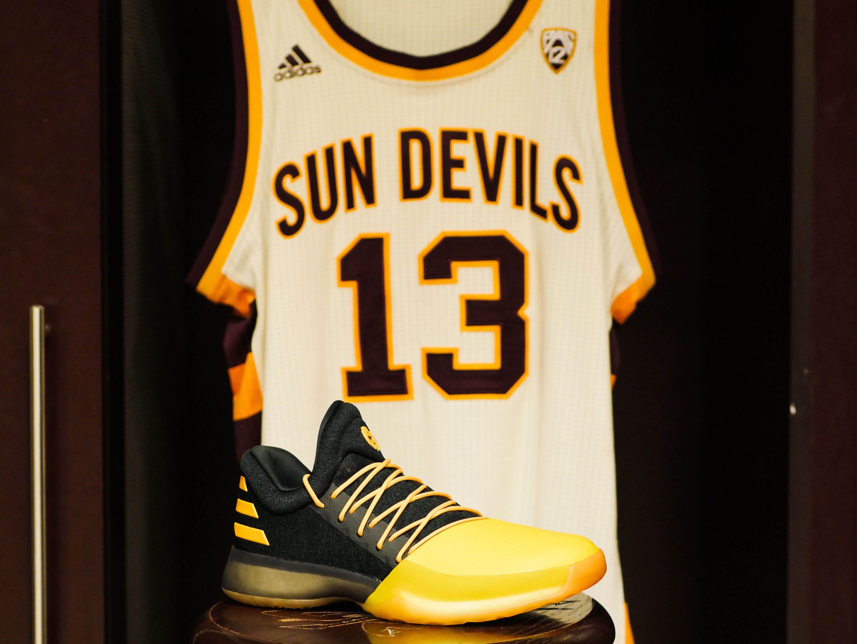 94a4ec4f18b Sun Devil Shining  adidas and James Harden Introduce The Harden Vol. 1 ASU  Tribute