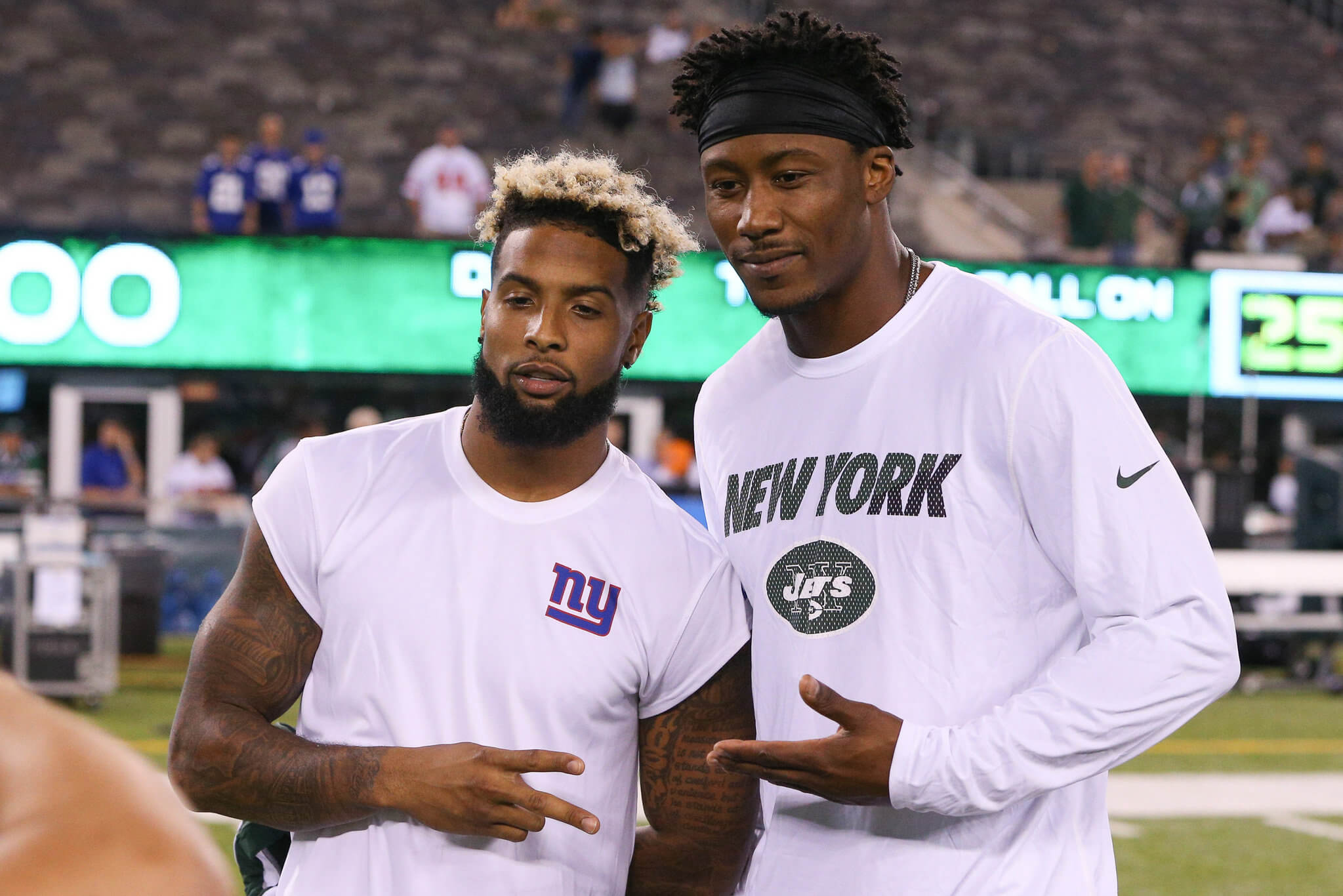 Why The Giants Signing Brandon Marshall Was The Right Move For