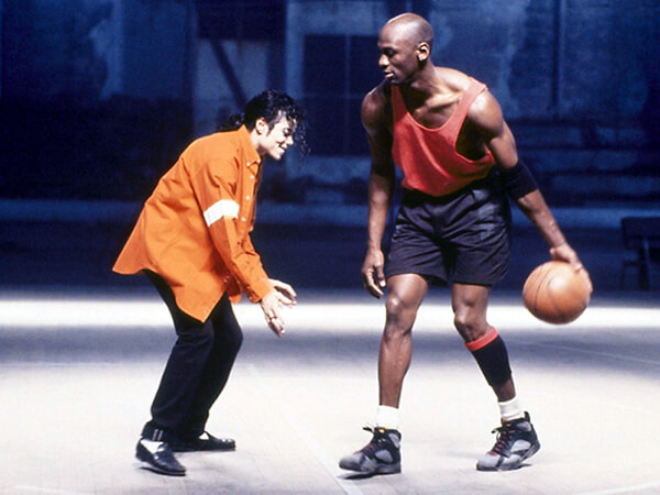 """best sneakers cdece 99308 Meeting of the Minds  25 Years Ago, Michael Jackson and Michael Jordan Join  Forces in """"Jam"""""""