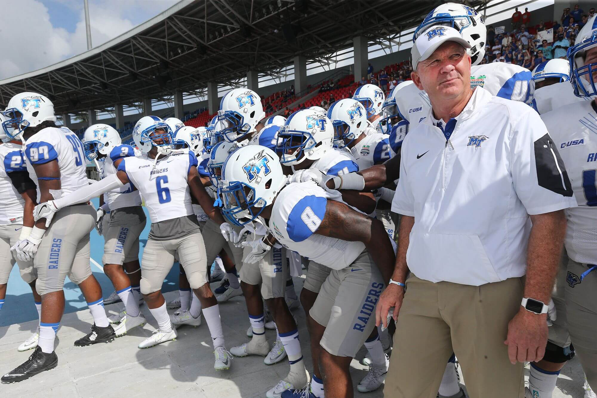 1339296e430d9f Brent Stockstill s Homecoming Made Middle Tennessee Football A Family Affair