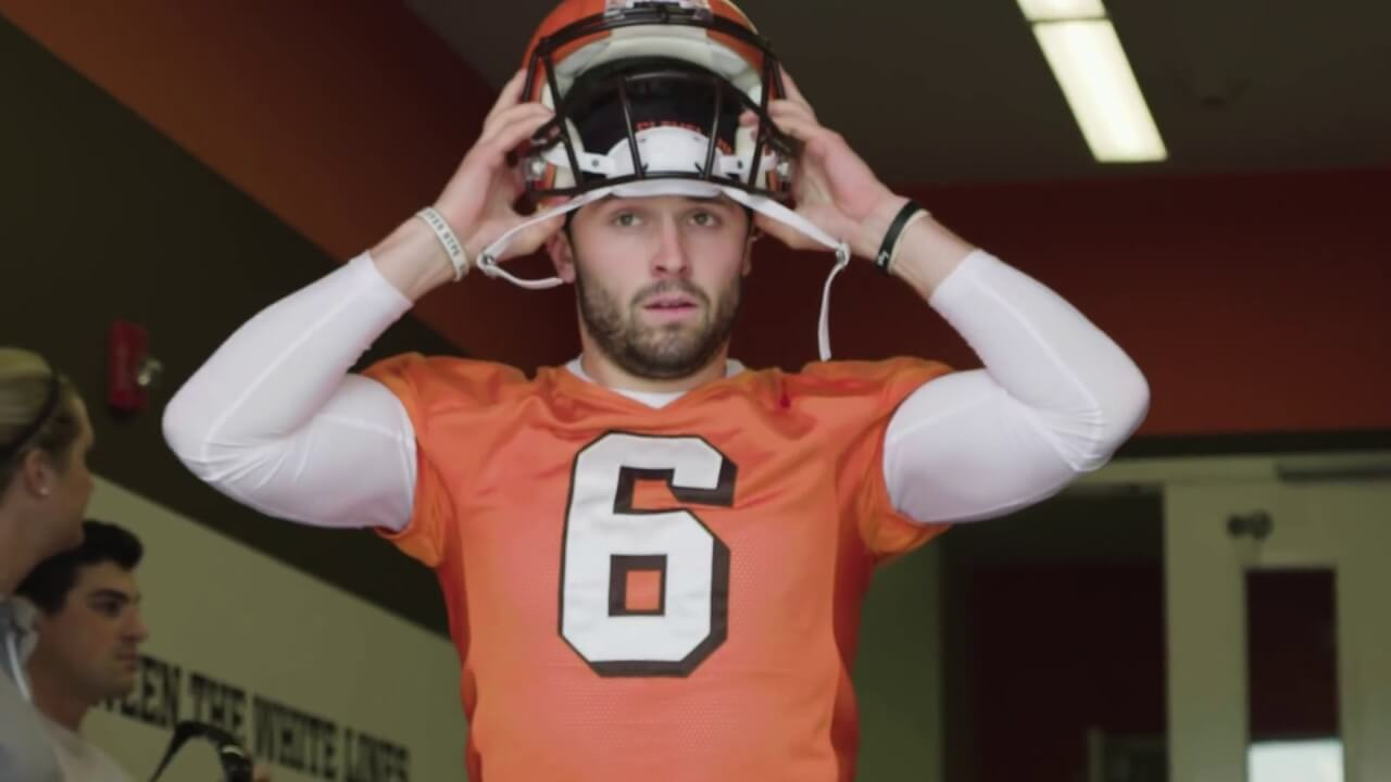 78ab0df40 Baker Mayfield Channels His Inner 2Pac And 5 Other Reasons Why The Browns  On Hard Knocks Will Be Must See TV