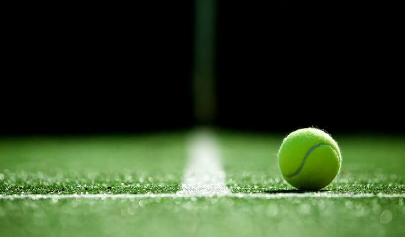 shutterstock tennis ball