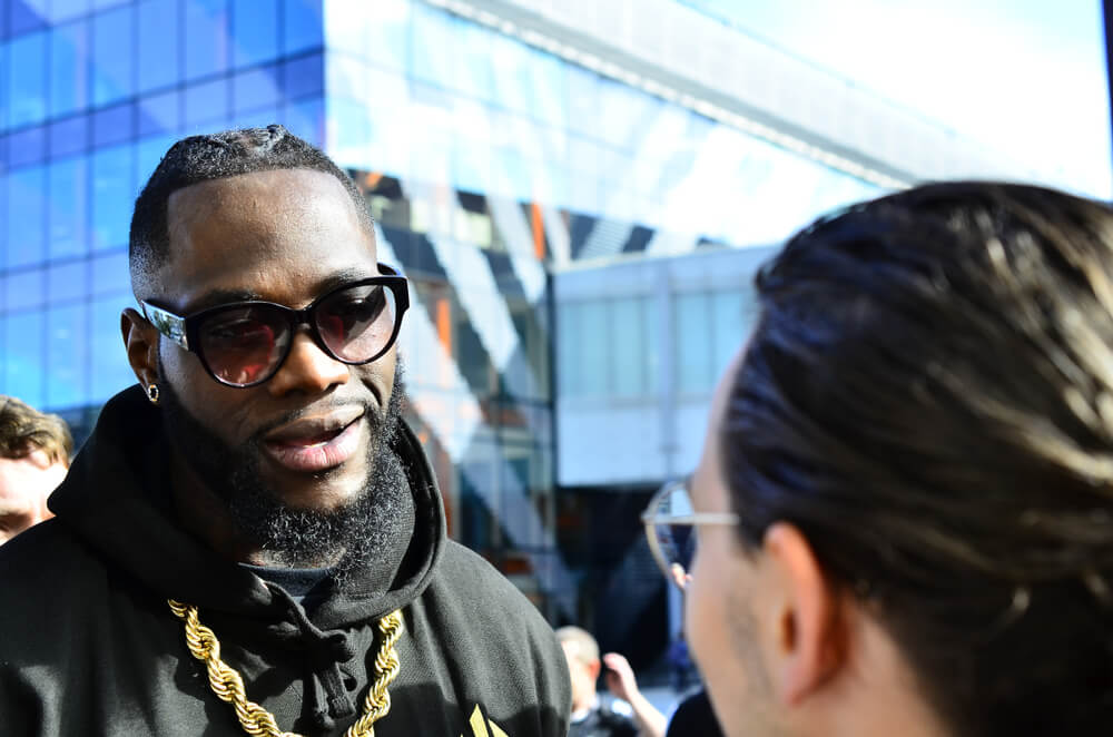 deontay to clean out division