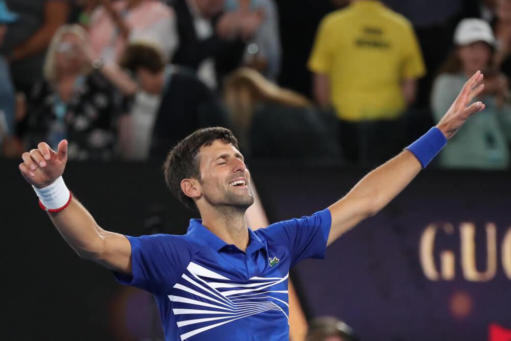 djocovick Australian open semi final