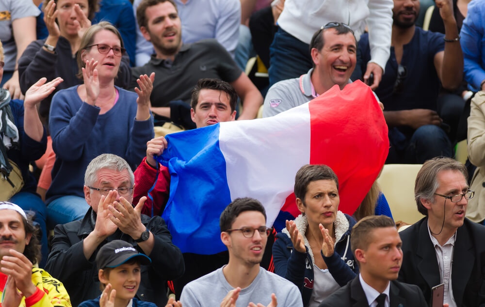 french open fans