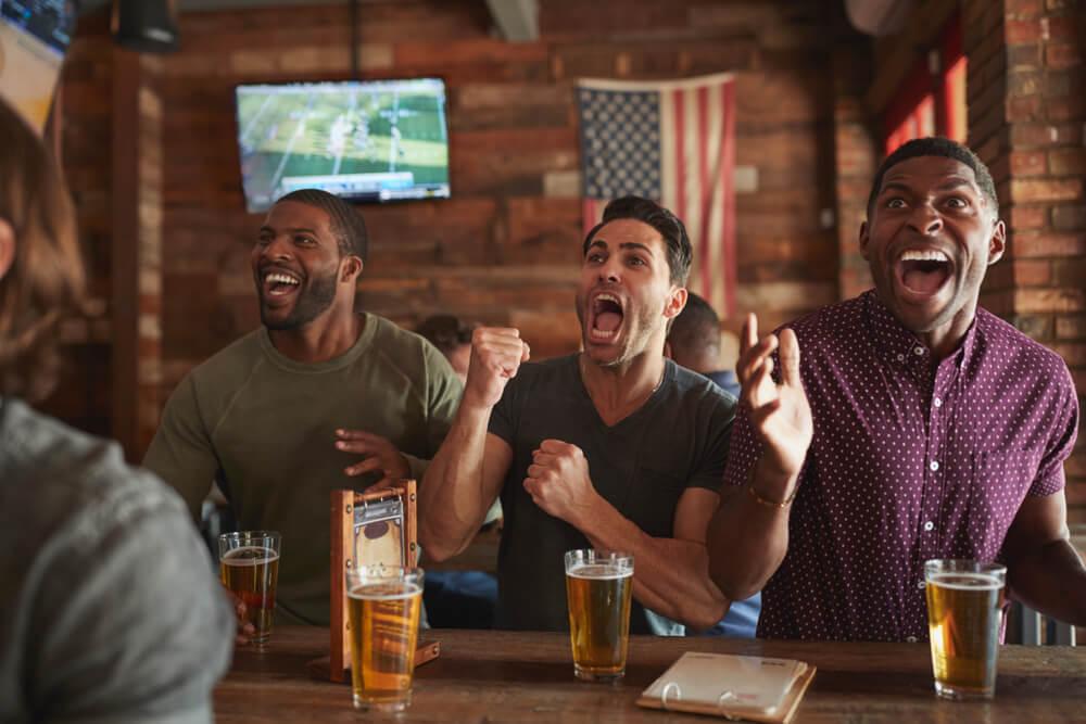 sports bar USA