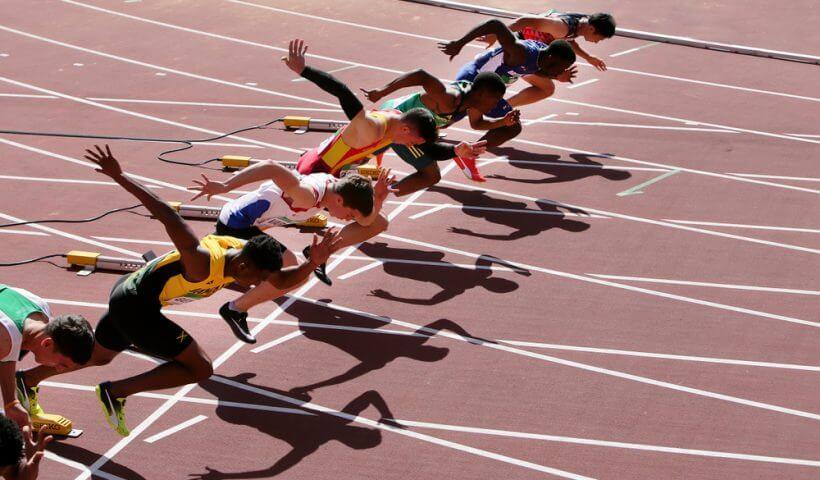 dk metcalf 100m sprint